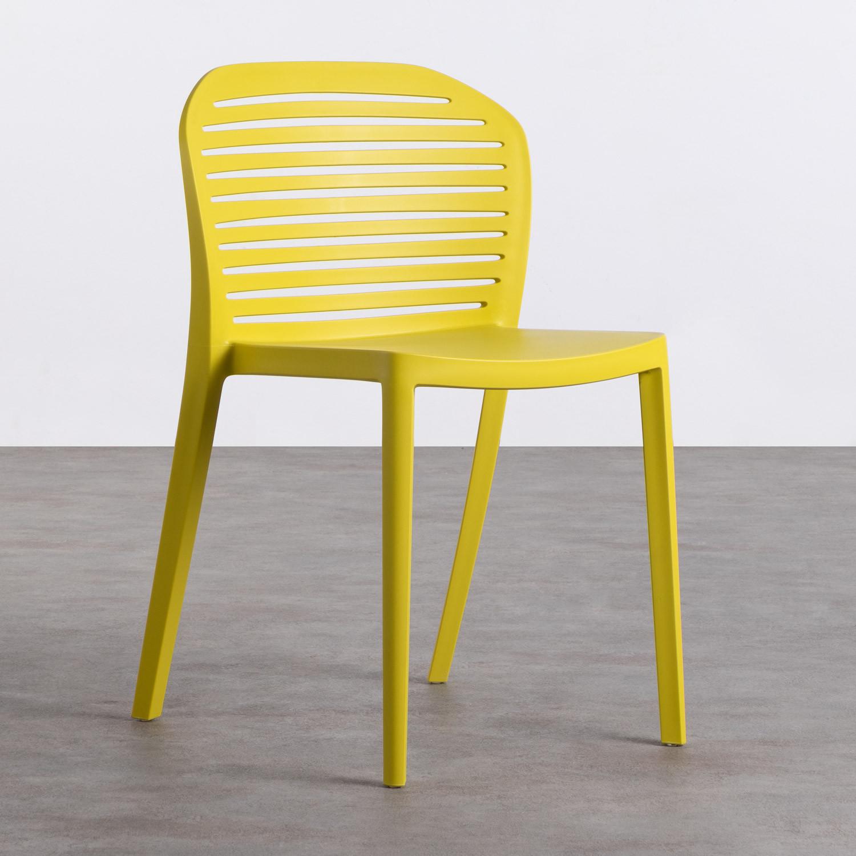 Outdoor-Stuhl aus Polypropylen Wave, Galeriebild 1