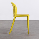 Outdoor-Stuhl aus Polypropylen Wave, Miniaturansicht 3