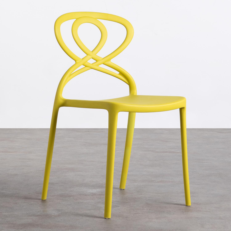 Outdoor-Stuhl aus Polypropylen Dream, Galeriebild 1