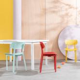 Outdoor Stuhl aus Polypropylen Dasi Netz, Miniaturansicht 2