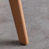 Esszimmerstuhl aus Polypropylen und Holz Fine Freya, Miniaturansicht 4
