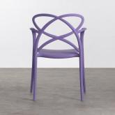 Outdoor Stuhl mit Armlehnen aus Polypropylen Cielo, Miniaturansicht 3