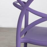 Outdoor Stuhl mit Armlehnen aus Polypropylen Cielo, Miniaturansicht 4