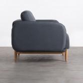 Sessel mit Armlehnen aus Stoff Linsi, Miniaturansicht 3