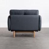Sessel mit Armlehnen aus Stoff Linsi, Miniaturansicht 4
