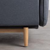 Sessel mit Armlehnen aus Stoff Linsi, Miniaturansicht 5