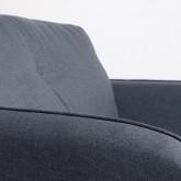 Sessel mit Armlehnen aus Stoff Linsi, Miniaturansicht 7