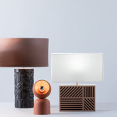Tischlampe aus Metall Elm, Miniaturansicht 2