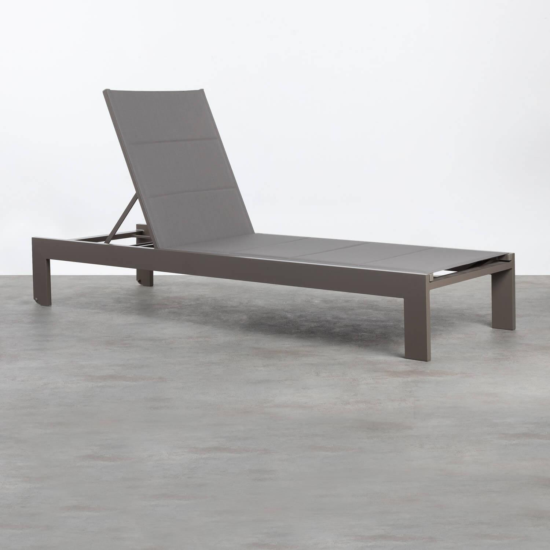 Tumbona de Aluminio y Textil Rivas, imagen de galería 1