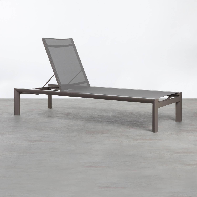 Tumbona de Aluminio y Textil Kory, imagen de galería 1