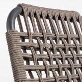 Silla de Exterior de Aluminio y Textil Alorn, imagen miniatura 6