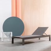 Tumbona de Aluminio y Textil Rivas, imagen miniatura 3