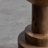 Taburete Bajo en Madera Nati (46 cm), imagen miniatura 4