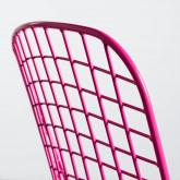 Silla de Comedor en Acero Amber Edición Fluor, imagen miniatura 7