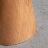 Taburete Bajo en Madera Joli (46 cm), imagen miniatura 5