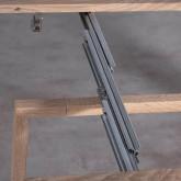 Mesa de Comedor Extensible en MDF (45,5-180,5x90 cm) Guest Rustic, imagen miniatura 10
