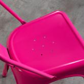 Silla de Comedor en Acero Vechio Industrial Fluor, imagen miniatura 5