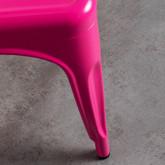 Silla de Comedor en Acero Vechio Industrial Fluor, imagen miniatura 6