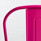 Silla de Comedor en Acero Vechio Industrial Fluor, imagen miniatura 7