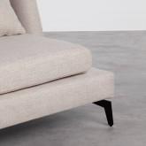 Sofá de 3 Plazas en Tela Ade, imagen miniatura 4