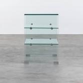 Estantería de Cristal Curvado (58 cm) Casey, imagen miniatura 3