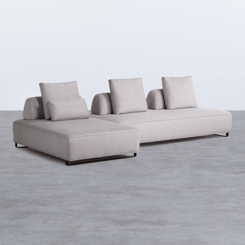 Sofá Chaise Longue Izquierda 4 Plazas en Tela Vogle, imagen de galería 1