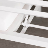 Cama Balinesa Reclinable de Tela y Aluminio Mersia, imagen miniatura 10