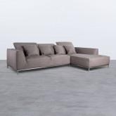 Sofá Chaise Longue Derecha 4 Plazas de Nobuck Rochi, imagen miniatura 3