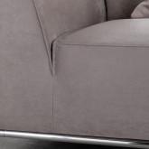 Sofá Chaise Longue Derecha 4 Plazas de Nobuck Rochi, imagen miniatura 8