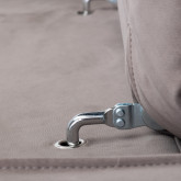 Sofá Chaise Longue Derecha 4 Plazas de Nobuck Rochi, imagen miniatura 9