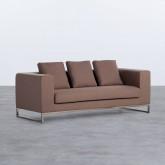 Sofá de 3 Plazas en Tela Ordhy, imagen miniatura 1