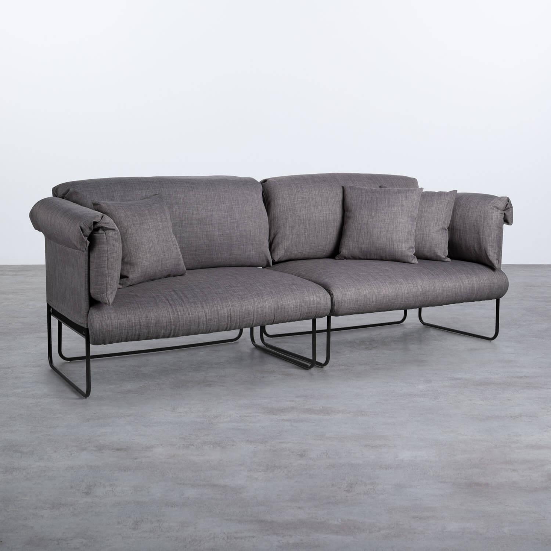 Sofá de 3 Plazas en Tela Arka, imagen de galería 1