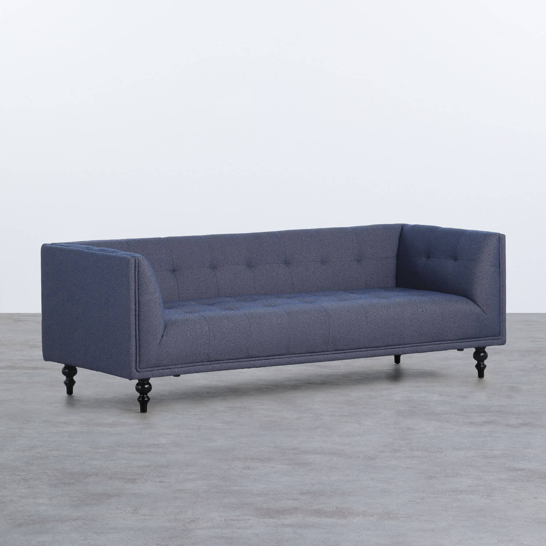 Sofá de 3 Plazas en Tela Barhy, imagen de galería 1