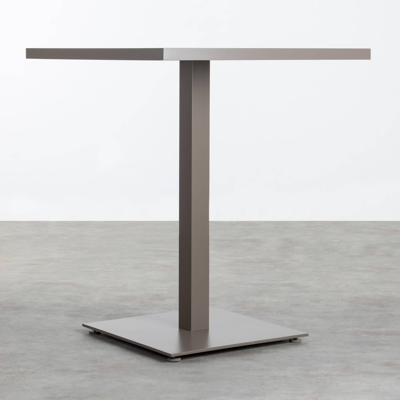 Mesa de Exterior Cuadrada en Aluminio (90x90 cm) Amane, imagen de galería 1