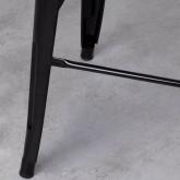 Taburete Alto en Acero Industrial (76 cm), imagen miniatura 5