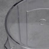 Taburete Bajo en Policarbonato Acqua (46 cm), imagen miniatura 3