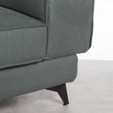 Sofá Chaise Longue Derecha 4 Plazas en Nobuck Textil Goldin, imagen miniatura 5