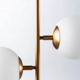 Lámpara de Techo Doble De Acero y Cristal Sipre, imagen miniatura 5