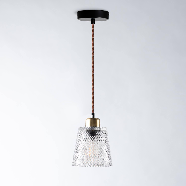 Lámpara de Techo de Cristal Ader, imagen de galería 1