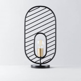 Lámpara de Mesa de Acero y Mármol Nima, imagen miniatura 1