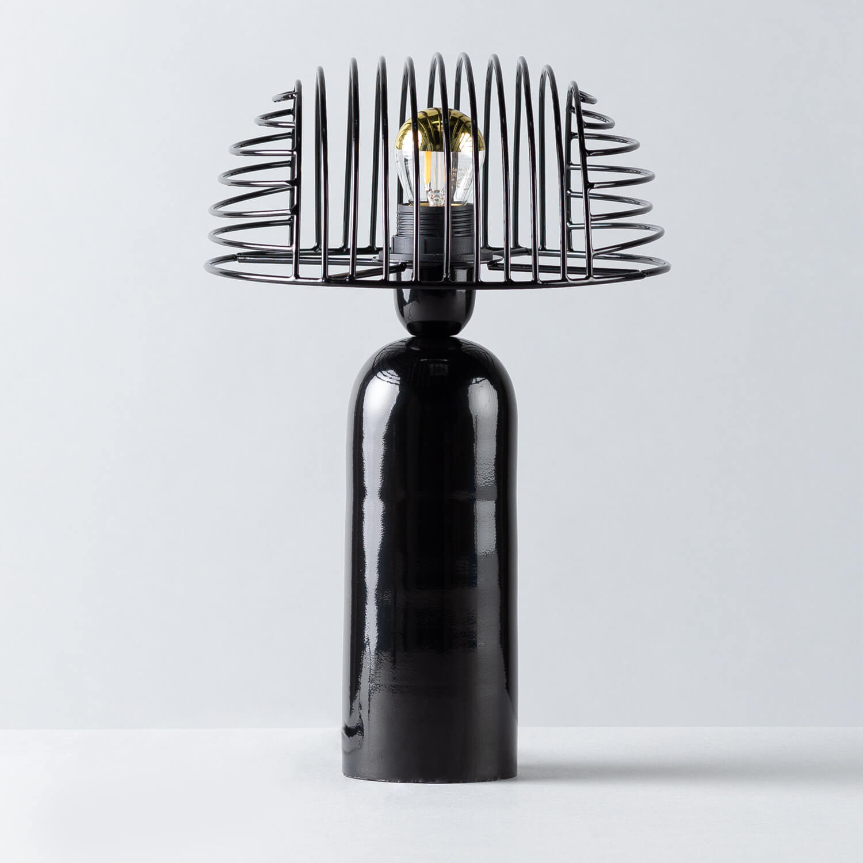 Lámpara de Mesa de Metal Siba, imagen de galería 1