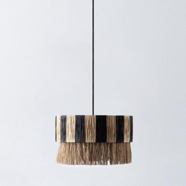 Lámpara de Techo de Ratán Liana