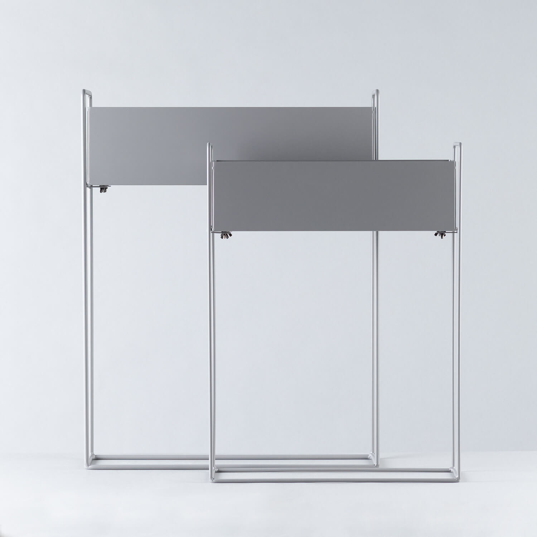 Maceteros Rectangulares en Metal Armin, imagen de galería 1