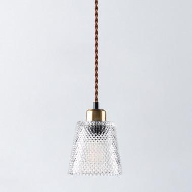 Lámpara de Techo de Cristal Ader