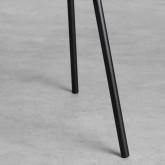 Silla de Comedor en Terciopelo y Acero Bonse, imagen miniatura 7