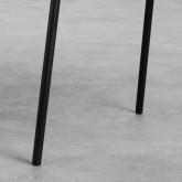 Silla de Comedor en Terciopelo y Acero Bonse, imagen miniatura 6
