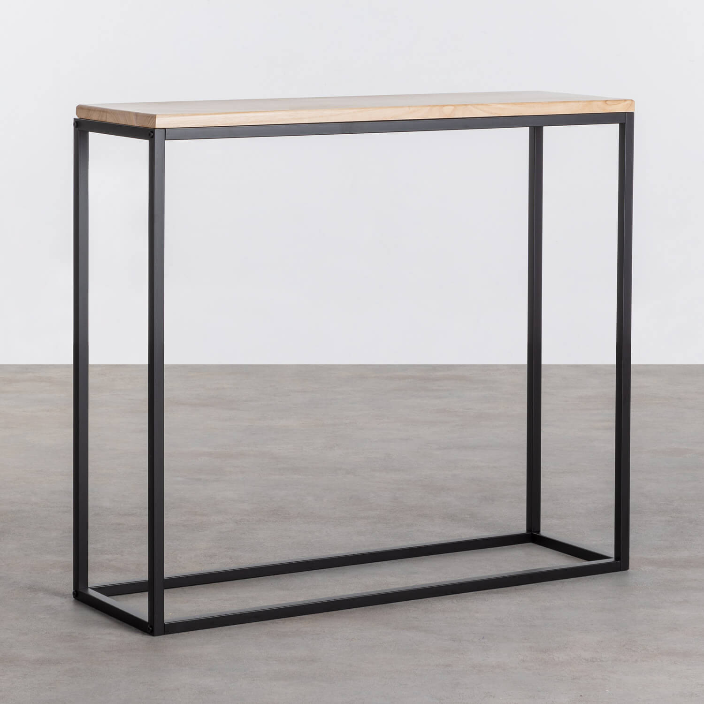 Consola en Madera y Metal Ferro, imagen de galería 1