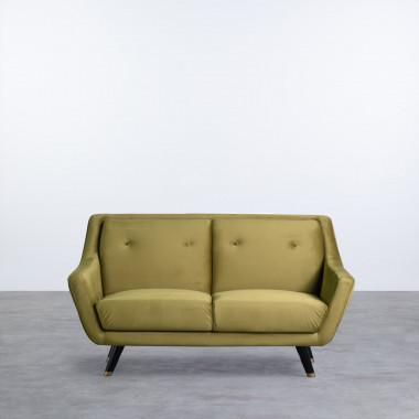 Sofá de 2 Plazas en Terciopelo Nubo