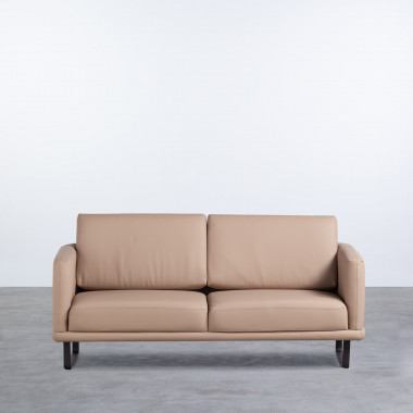 Sofá de 2 Plazas en Polipiel Descui