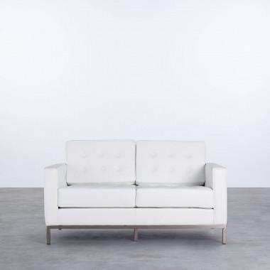 Sofá de 2 Plazas en Polipiel Schi